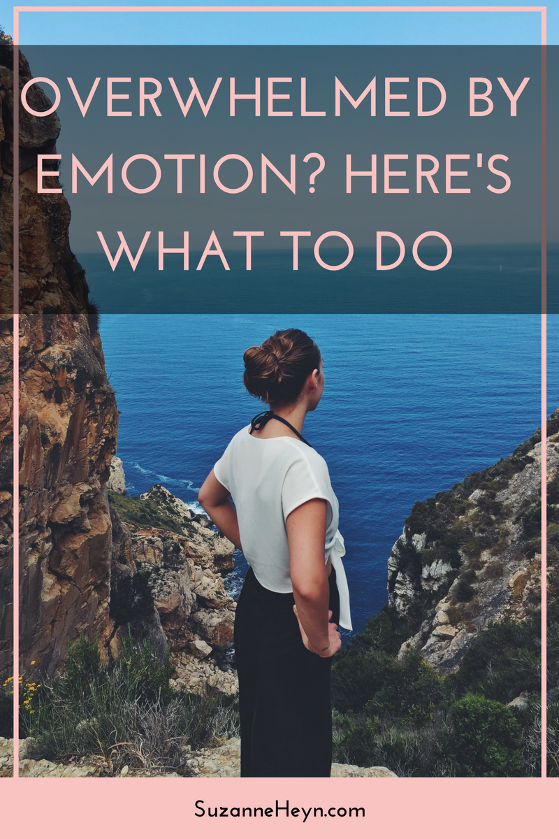 Click through and learn what to do when your emotions overwhelm you.  spirituality meditation self-care self-love inspirational quotes meditation depression anxiety