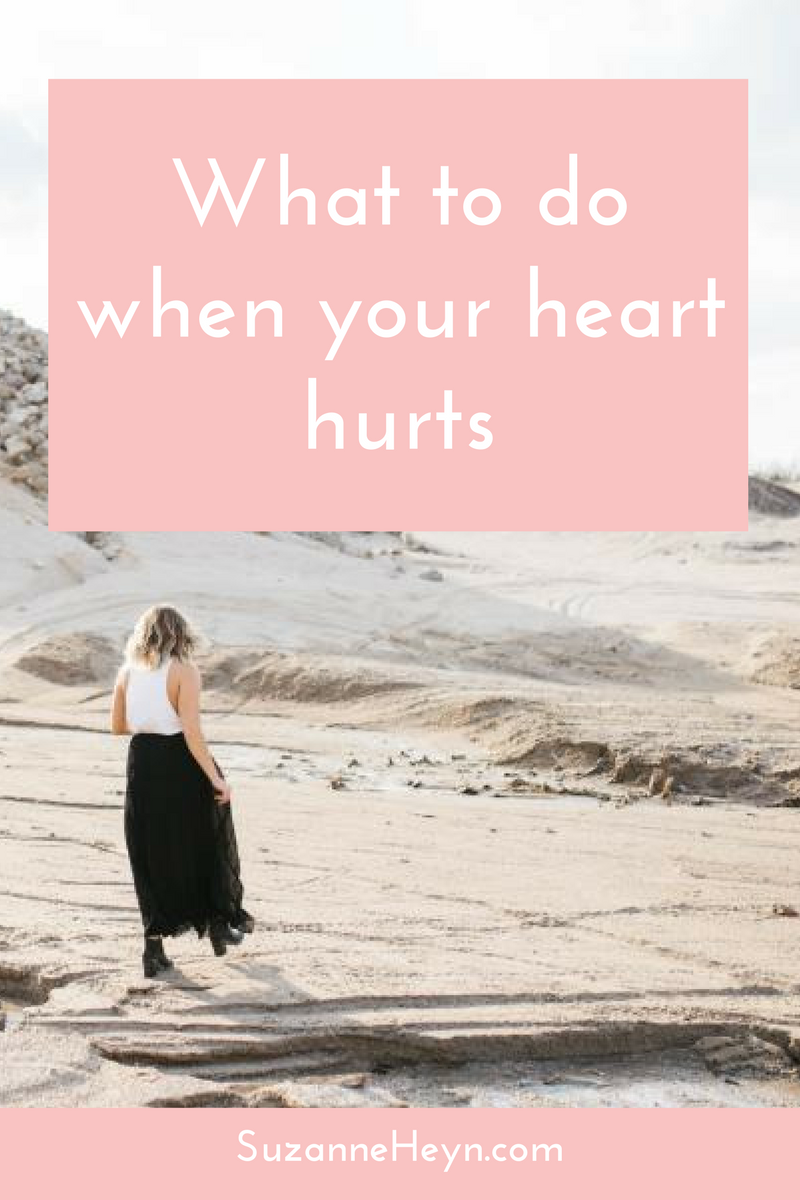 Everyone searches for happiness, but this only makes us resist sadness. When your heart hurts, it's a call for love. To deepen your spiritual practice and reconnect to your true self. Read more at SuzanneHeyn.com and download a free meditation while you're there.