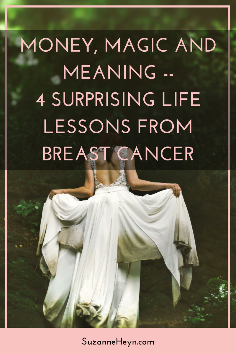 Click through for a heart-warming tale of surprising life lessons from breast cancer.