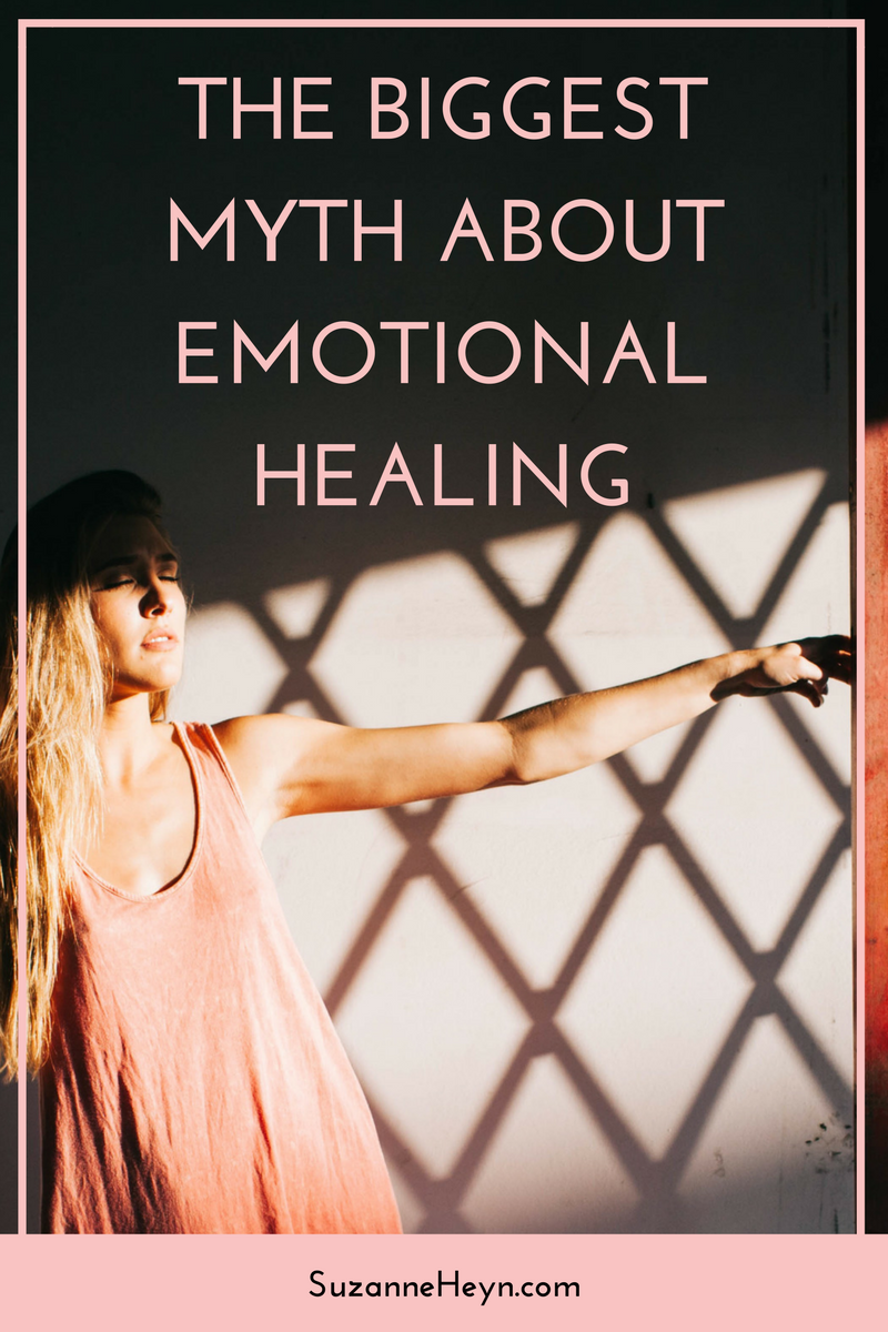 Click through to discover the biggest myth of emotional healing. Self-love | self-help | mindfulness | meditate | spirituality | happiness | healthy