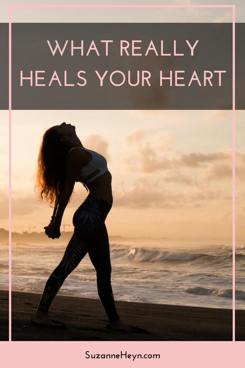 What really heals the heart. spiritual healing meditation yoga self-help self-love self-care
